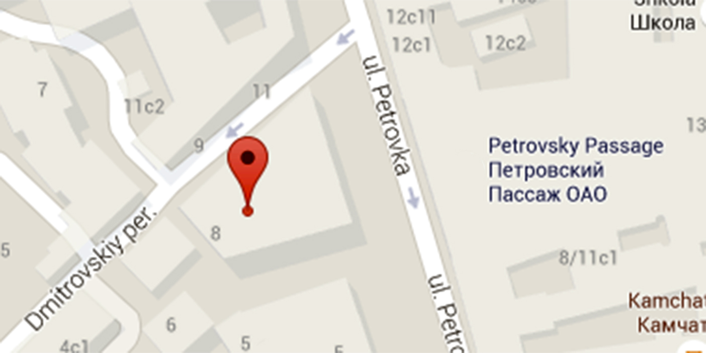 Google Map. Geneva House 7 Petrovka Street Moscow 107031. Russian  Federation. Email moscowinfo@akingump.com